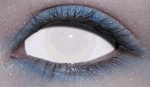 Как глаз сделать белым